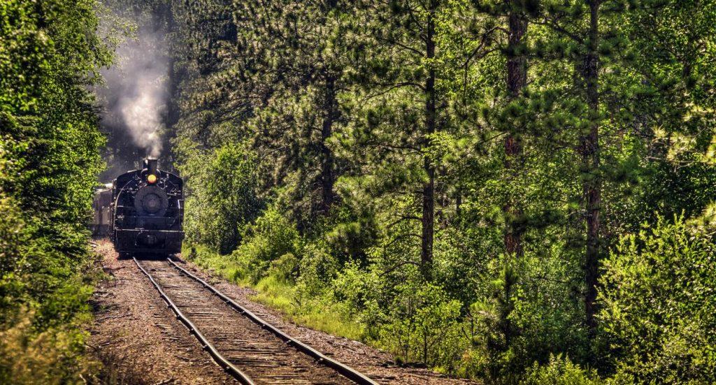 Goditi il viaggio in treno